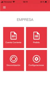 a´plicacion movil de gestion sinergia software